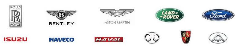 各大汽車品牌合作
