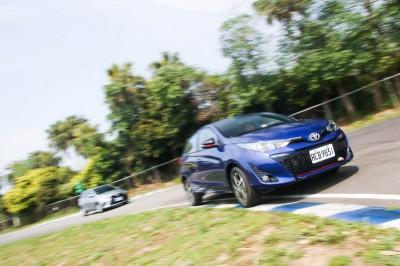 為安全而測 神鴨Yaris+VSC賽道激駕不失控(新舊車款單圈比對)--超越車訊