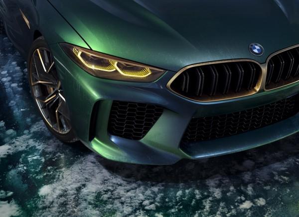 BMW頂級性能轎跑雛形 Concept M8 Gran Coupe