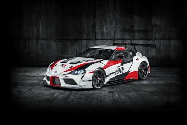 牛魔王轉世Toyota GR Supra Racing Concept