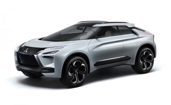 日系電動SUV-Mitsubishi e-Evolution Concept