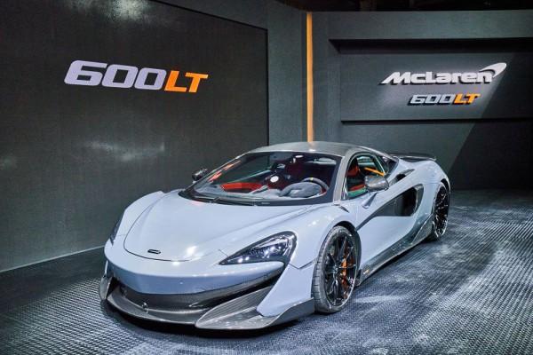 Longtail性能續章登台 - McLaren 600LT