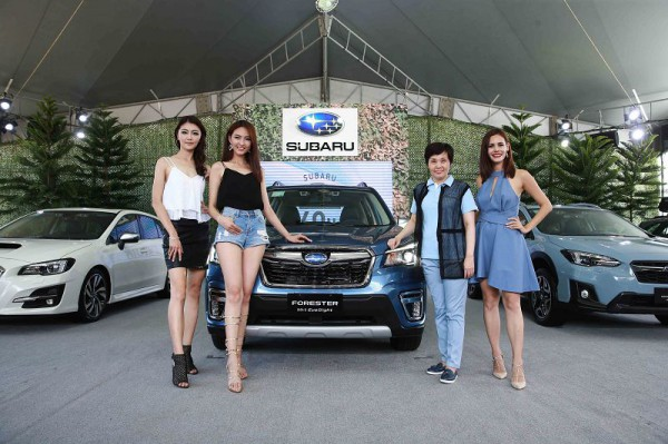 Subaru品牌日活動  「手」護公益