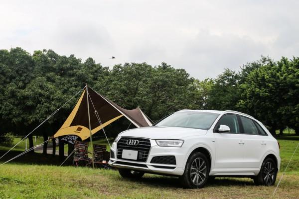 天窗、S line、BOSE一次通包 Audi Q3 精彩無限版