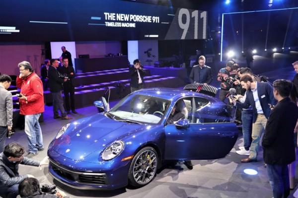 0~100km/h三秒台!全新Porsche 911洛杉磯發表會搶先直擊