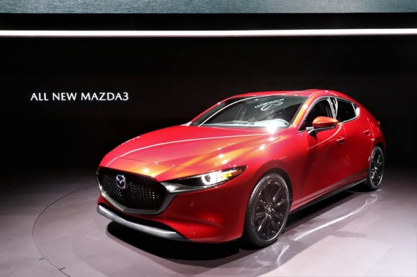 Auris請小心!全新大改款Mazda 3洛杉磯車展亮相
