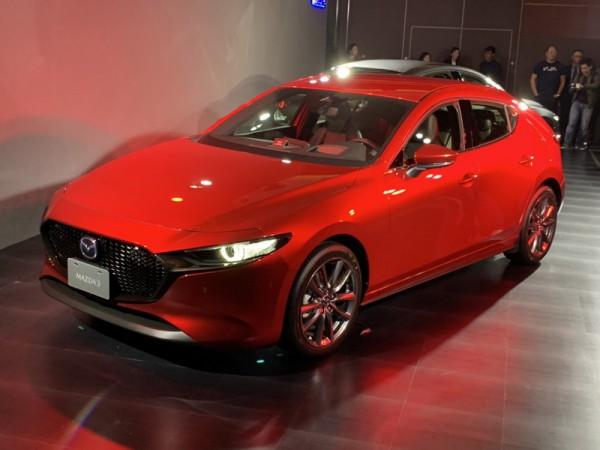 四月開始接單 七月正式發表 大改Mazda 3在台現身