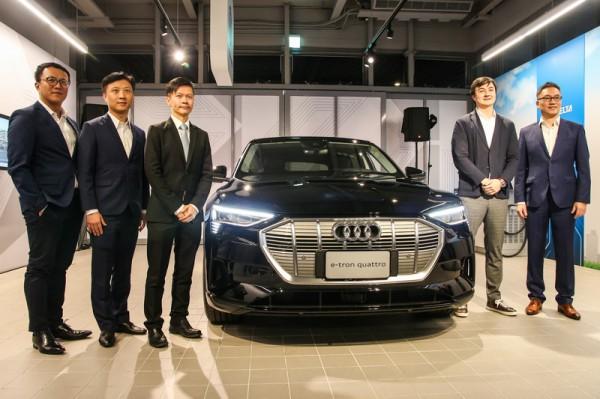 Audi e-tron首度造訪台灣 宣示VAG集團在台電動車計畫