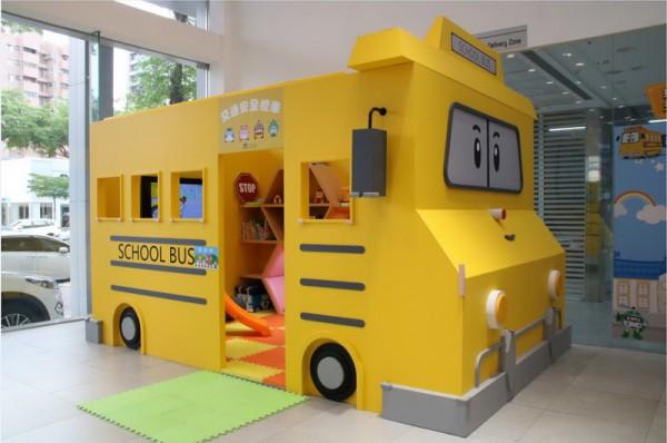 POLI School Bus駛進HYUNDAI展間 獨家兒童交通安全體驗區