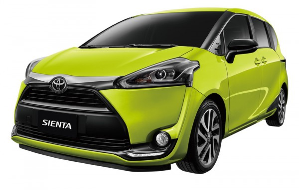 Toyota Sienta 1.8L  全面免費升級魅力風尚版外觀套件