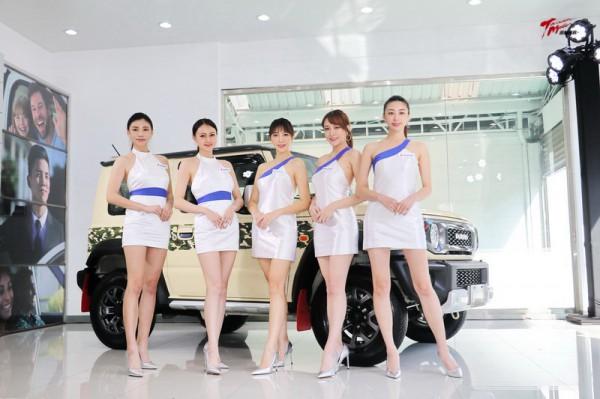 【台北車展】Jimny特仕車、Suzuki Girls一同登台亮相!