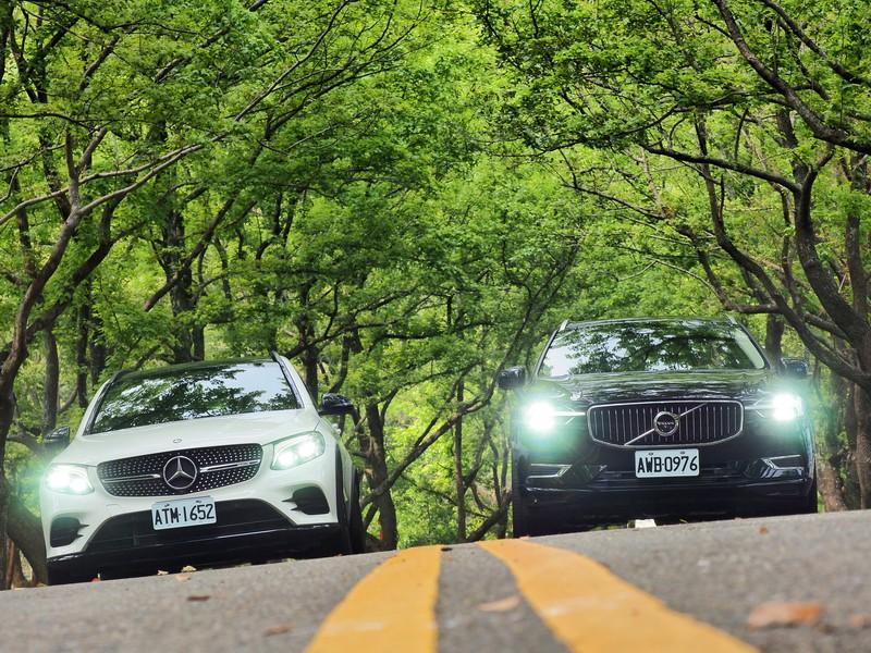 性能跑旅對決  Mercedes-AMG GLC43 4MATIC&Volvo XC60 T8 Inscription