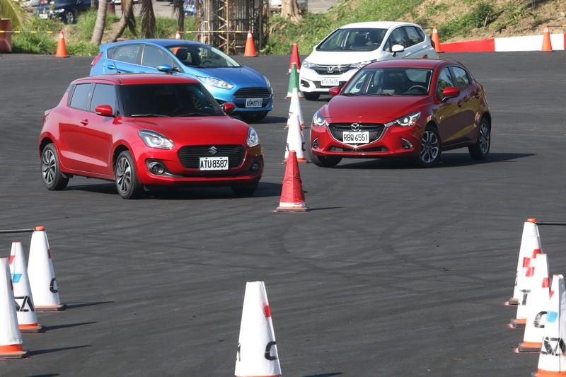 四小天王,誰是金卡納之王? Suzuki Swift/Mazda 2/Honda Fit/Ford Fiesta