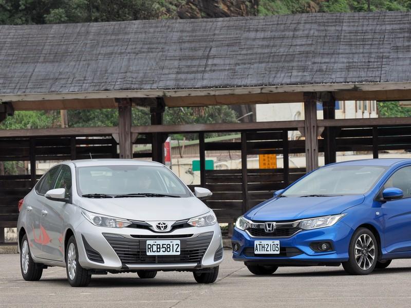 天王復仇記Toyota Vios vs. Honda City