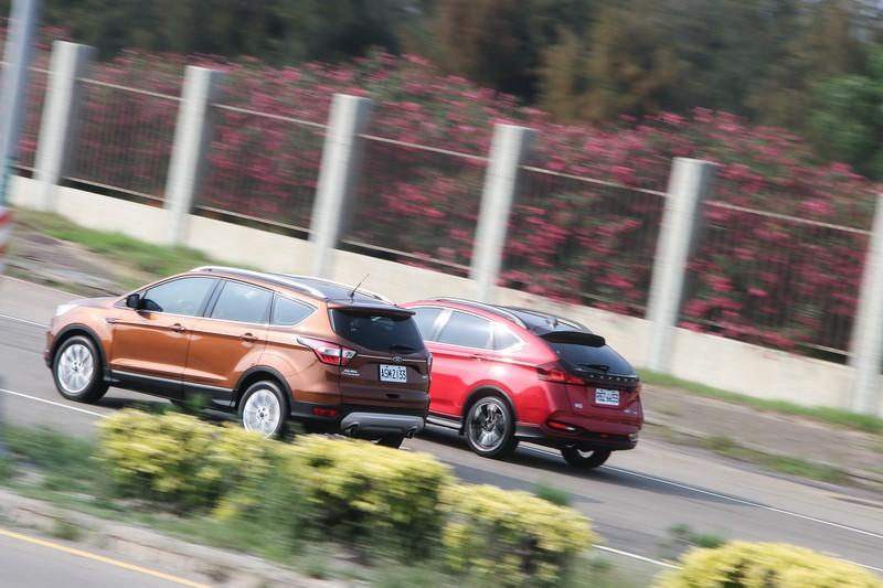 0~1k挑戰賽Luxgen U6 GT220 vs. Ford Kuga EcoBoost 245