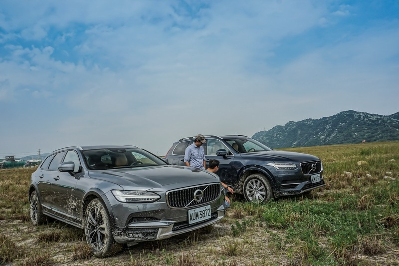 豪野旅情 Volvo XC90 & V90 Cross Country