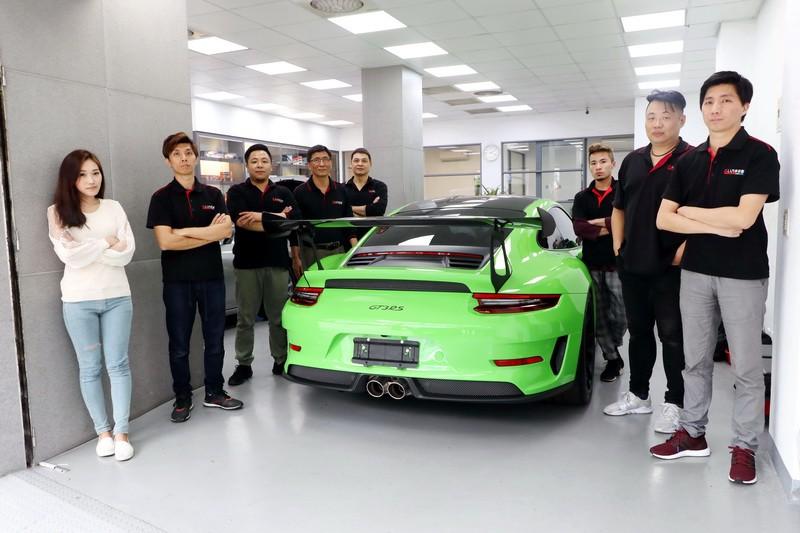 千萬神駒991.2 GT3 RS唯一指定 ─ 人人汽車音響