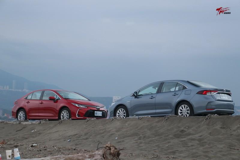 神の選  Toyota Corolla Altis 汽油 vs. 油電