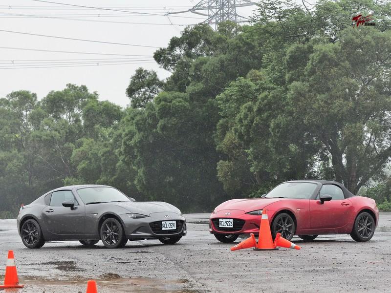馬力加大 更Fun肆-Mazda MX-5 RF自排+軟篷手排