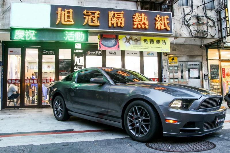 桑瑪克Smart頂級隔熱紙 X Ford Mustang-高透光、反射率的最佳優選