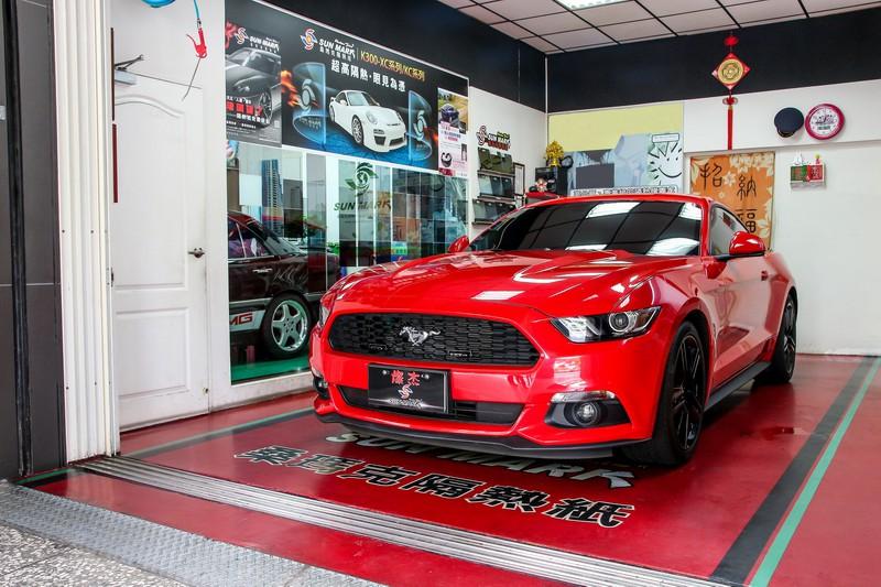 桑瑪克TK隔熱紙 X Ford Mustang-高反射、保訊號的優質選