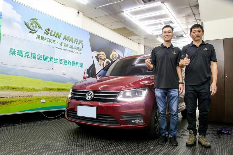 桑瑪克Smart頂級隔熱紙 X VW Caddy Maxi-乘員的最佳防盾