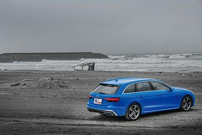 這輛車,開品味的!-Audi A4 Avant  40 TFSI S line