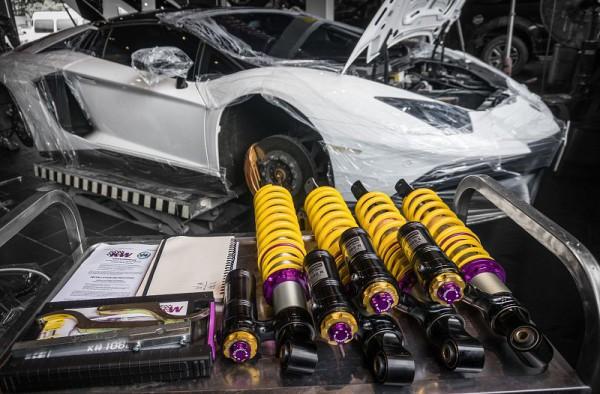 KW V4 X Lamborghini Aventador - 頂級道路版3Way避震器