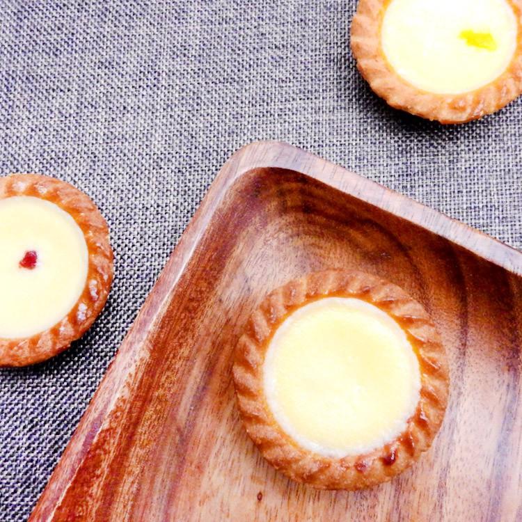 乳酪布蕾塔-百香/玫瑰/草莓/綜合(5入)