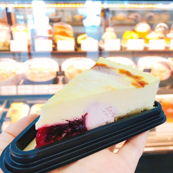 德式玫瑰生酪布丁蛋糕(切片)