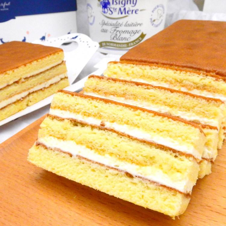 法國白乳酪蜂蜜蛋糕