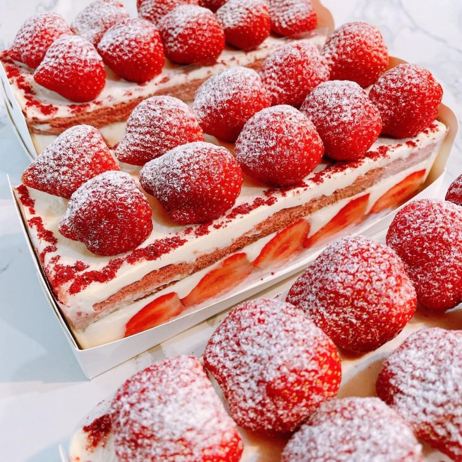 【週末限定】草莓巧克力磚