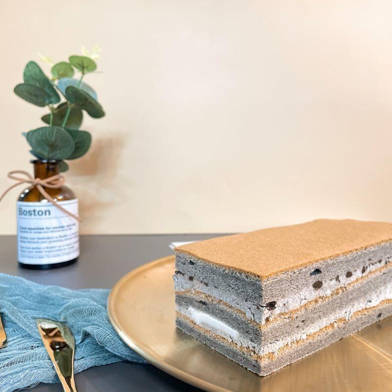 芝麻乳霜蛋糕