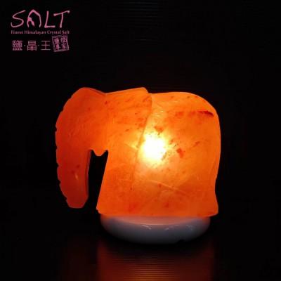 大象造型鹽燈-min