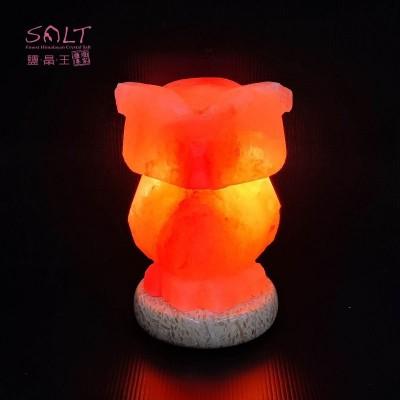 貓頭鷹岩燈-min