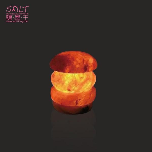 鹽燈專家【鹽晶王】療癒系商品‧USB檯燈小鹽燈(1入),可擺放辦公桌,電腦旁,讓您財富福運滿滿。