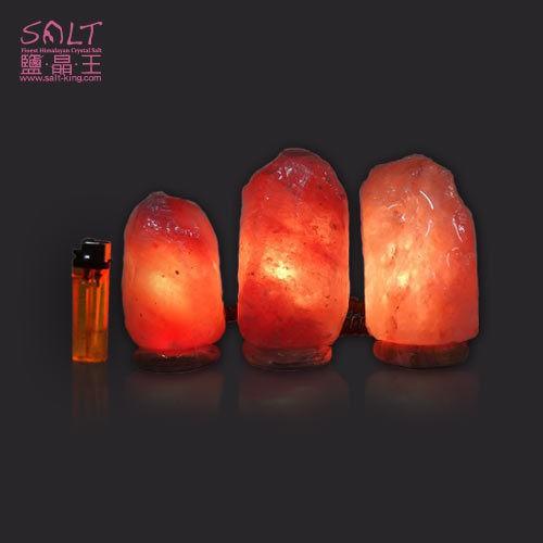 鹽燈專家【鹽晶王】療癒系商品‧USB糖果玫瑰自然型小鹽燈(1入)紋石底座,可擺放電腦旁,讓您財富福運滿滿。