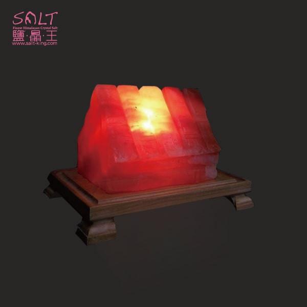 鹽燈專家【鹽晶王】玫瑰鹽(糖果屋)造型鹽燈,居家風水擺飾,開運旺財,富貴滿堂。