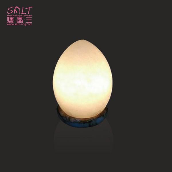 鹽燈專家【鹽晶王】頂級白鹽(蛋)造型鹽燈,命理界真正的招財黃光,送禮自用最佳的選擇。