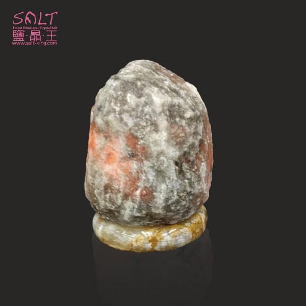 鹽燈專家【鹽晶王】正宗巴基斯坦國寶級深藍鹽燈2-3kg《青玉石底座》《一入組》開運必備。