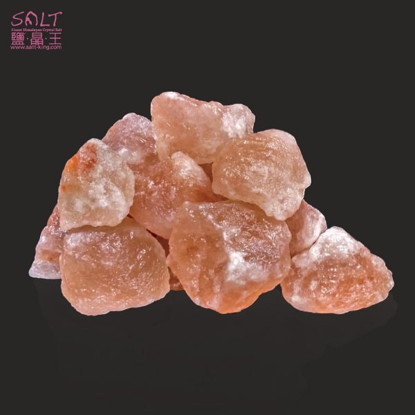 鹽燈專家【鹽晶王】喜馬拉雅山天然結晶玫瑰鹽SPA專用,100%純天然玫瑰岩鹽碎塊(一公斤裝)